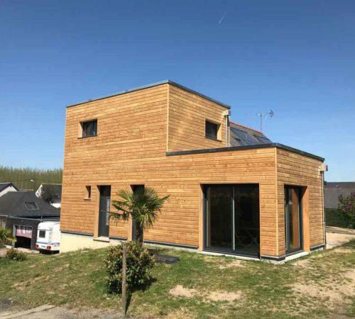 Couverture de Loire - Maison et extension ossature bois