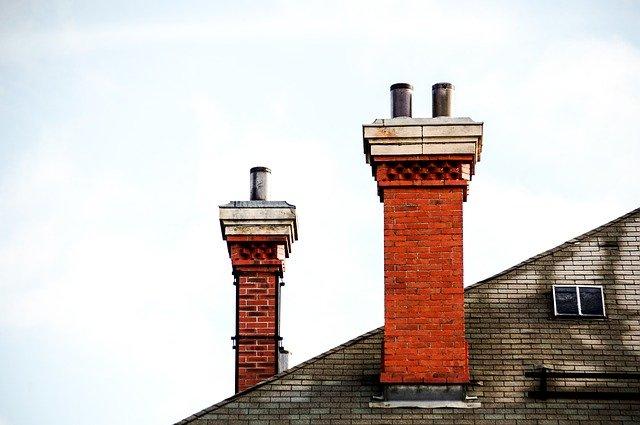 Cheminée toit