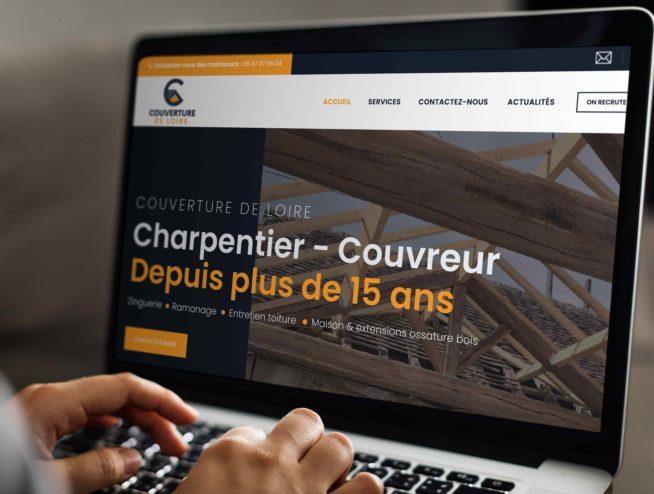 Site Internet couverture de Loire 37